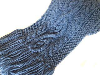 knitting pattern scarf size 8 needles ravelry killarney cable knit scarf pattern by