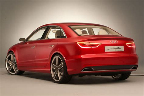 Audi A3 Concept by Audi A3 Concept Saloon Revealed