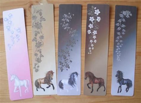 free printable horse bookmarks 4 best images of horse bookmarks printable free