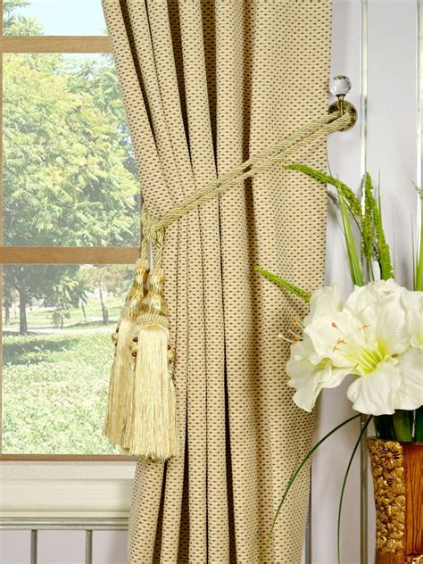 tassels for curtains how to use curtain tie back tassels integralbook com