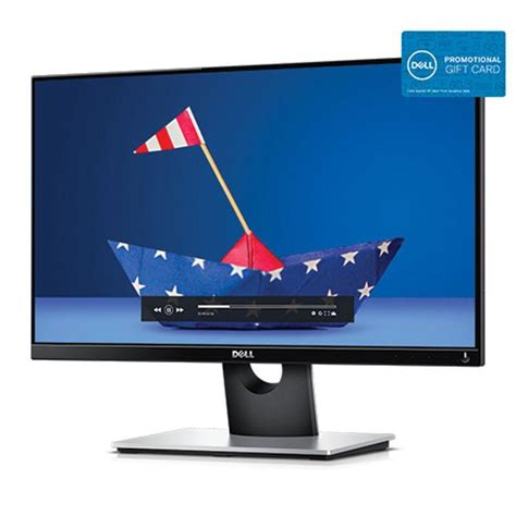 Dell Gift Card Promo - dell 23in s2316h led monitor with a 75 gift card for 129 99 shipped