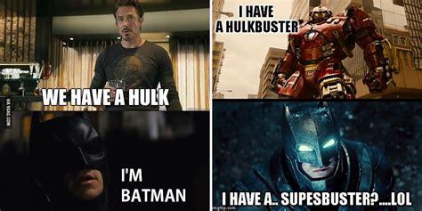Men Memes - batman vs iron man memes cbr