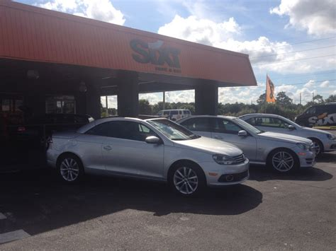 orlando florida sixt car rental review   agency