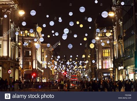 london uk 1st november 2015 switching on oxford street