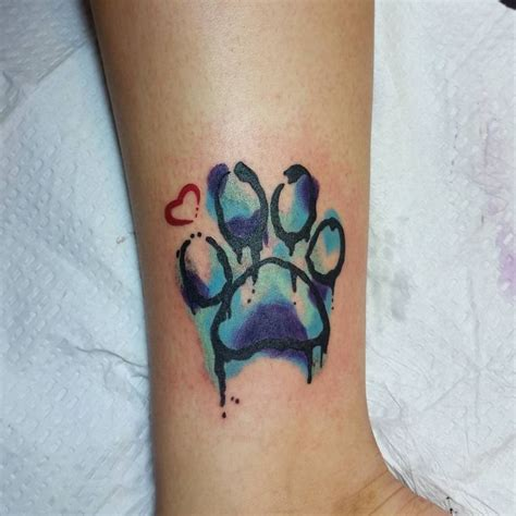 tattoo dövme printer yazici paw print tattoo 78 paw prints pinterest paw print