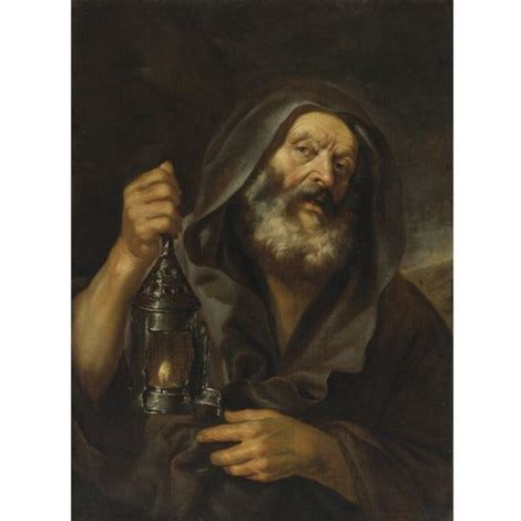 Honest Search Diogenes With His Lantern In Search Of An Honest By Mattia Preti On Artnet