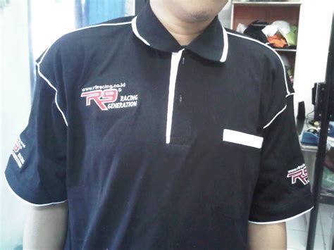 Kaos Kerah Polo Security Polo Tshirt Security Polo Tshirt bordir komputer kaos murah bikin kaos kerah murah bordir