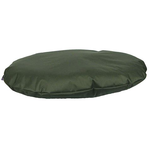 waterproof dog beds p l heavy duty waterproof oval dog bed cushion small green