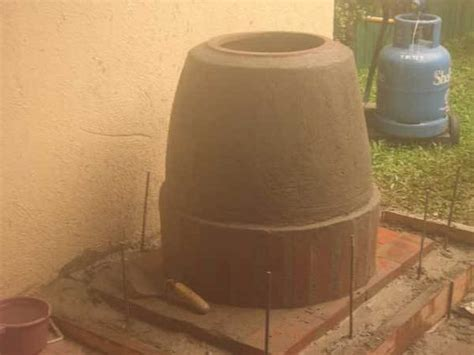 backyard tandoor oven home built tandoori oven outdoors at home pinterest