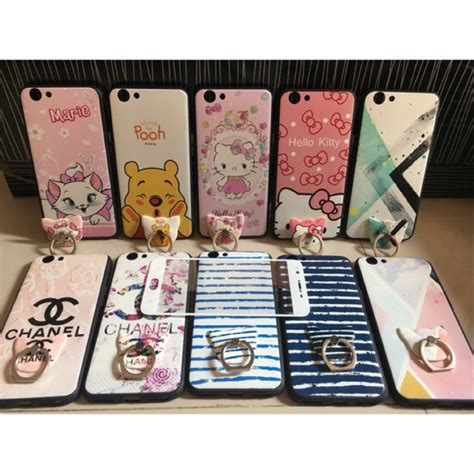Oppo A37 Neo 9 Ring softcase korean ring temper oppo f1s a37 neo 9