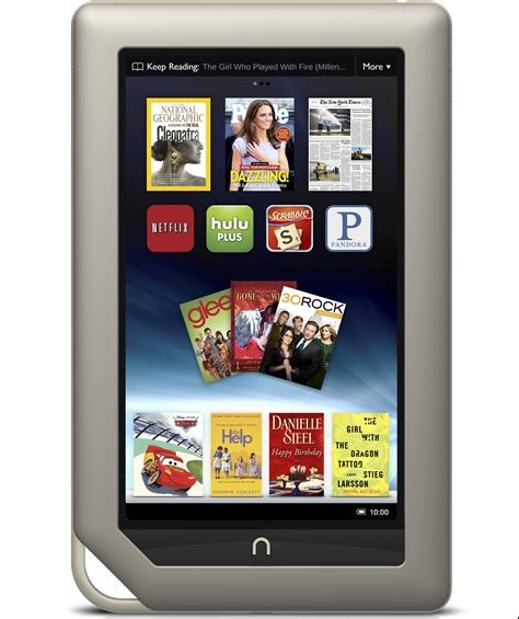 android for nook nook tablet gets cyanogenmod 10 1 nightlies