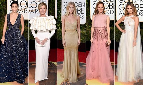 Top 5 At Golden Globes Award Show by Best And Worst Dressed Of The 2016 Golden Globe Awards