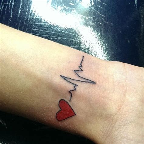 heart rate tattoo the 25 best rate ideas on word