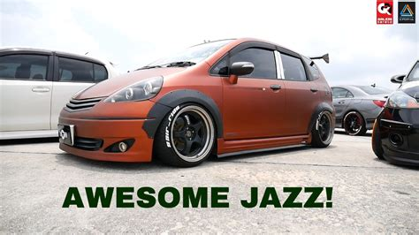 Coilover Costum Honda Jazz Rs Ge8 Honda honda jazz gd with custom colour and air suspension