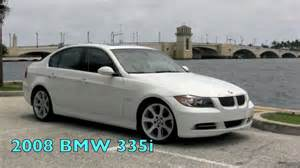 2008 bmw 335i white sedan mov