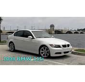 2008 BMW 335i White Sedanmov  YouTube