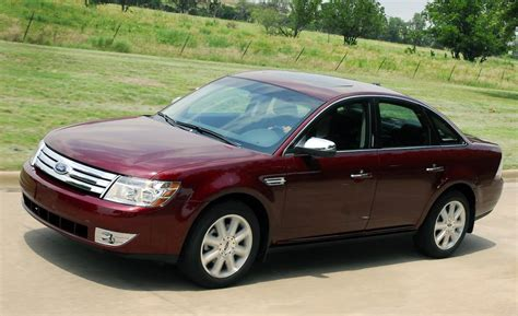 ford taurus 2009 car and driver
