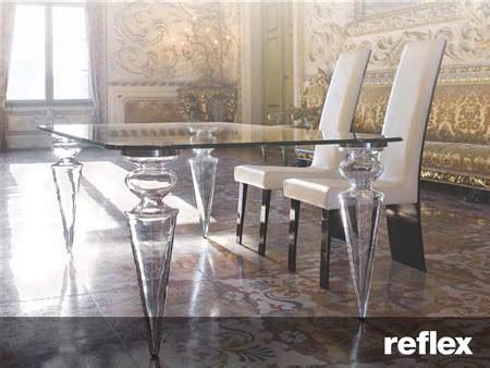 reflex tavoli in cristallo erreci ernestomeda valcucine como rimadesio