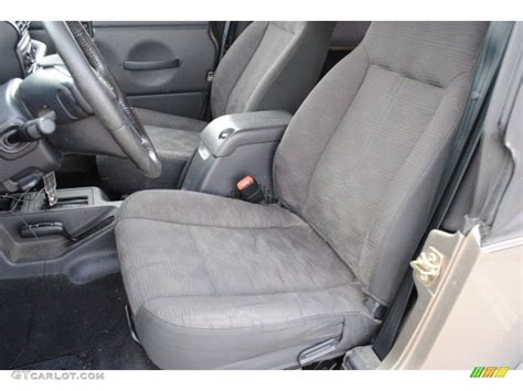 2004 Jeep Wrangler Rear Seat 2004 Jeep Wrangler Unlimited 4x4 Front Seat Photo