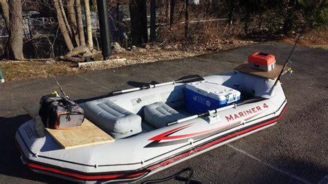 mariner 4 boat intex mariner 4 little vinyl boat project