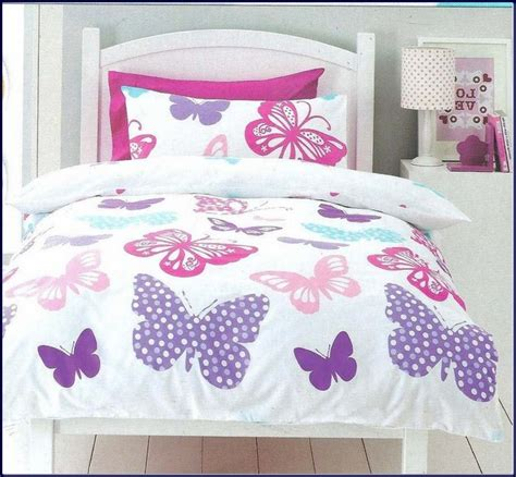girls butterfly bedding girl butterfly flower twin quilt kid bedding set advice for your home decoration