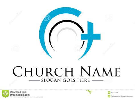 design free church logo church logo stock illustration illustration of heritage