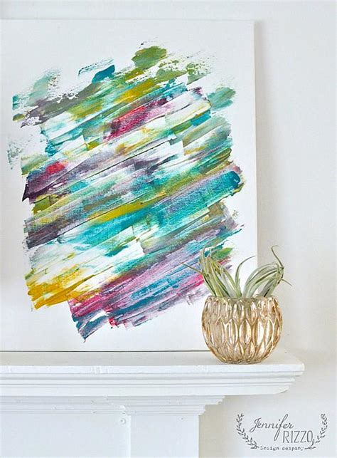 acrylic paint tie dye canvas decoart crafts tie dye modern mixed media canvas