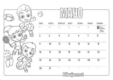 Calendario Y Sus Dibujos Calendarios 2016 Para Imprimir Para Ninos Calendar