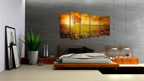 interior paintings for home triptych is a modern type of interior design paintings for home