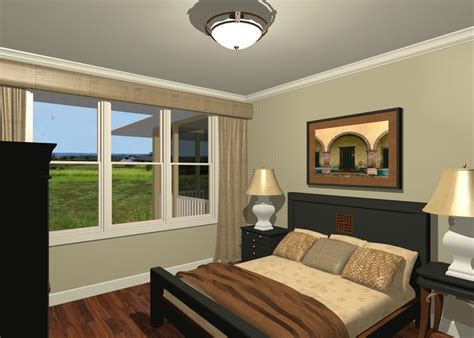 beige walls white trim loft