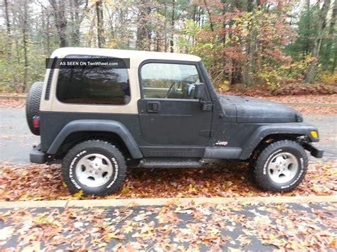 Jeep Wrangler Sport 4 Door 2000 Jeep Wrangler Sport Utility 2 Door 4 0l