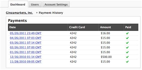 Credit Card Purchases Template by Keep Track Of Billing Payment History