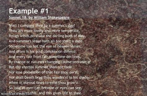 exles of iambic pentameter poetry go search