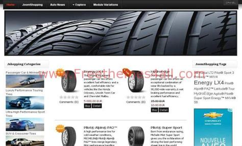 Auto Cars Shopping Joomla Theme Free Download Joomla Shopping Cart Template Free