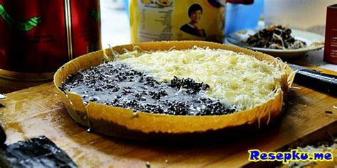 Teflon Eropa resep martabak manis keju sederhana dengan teflon