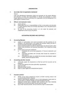 purchasing manual template best photos of policy and procedure manual template