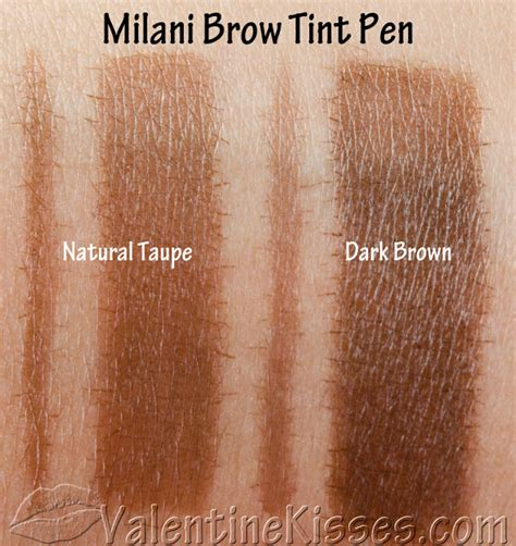 Milani Easy Brow Tinted Brow Gel kisses milani brow tint pens in taupe