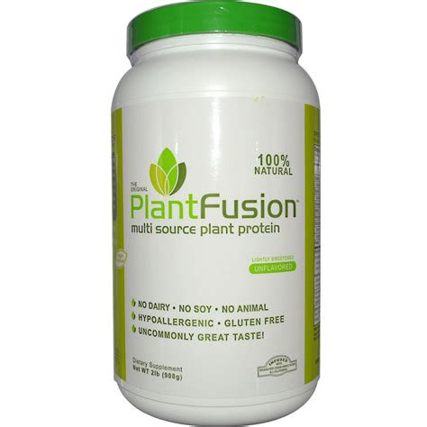 protein powder plantfusion multi source plant protein powder