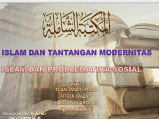 ppt keterpaduan islam dan iptek powerpoint presentation