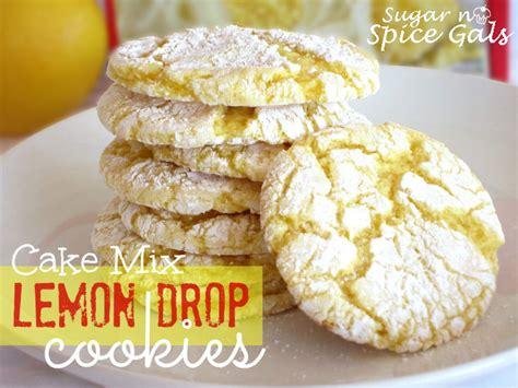 lemon drop mix cookie recipes cake mix