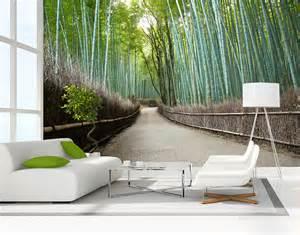 Bamboo Wall Mural bamboo grove wall mural your decal shop nz designer wall art