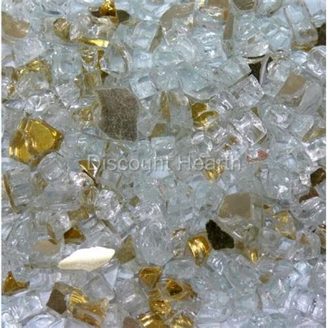 Fireplace Glass Crystals by 1 4 Quot 1 120 Lbs Fireglass Glass Pit
