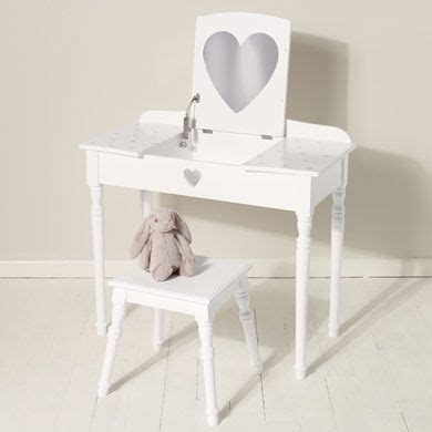 Childrens Dressing Table And Stool by Maisie Dressing Table Stool Set White Dressing
