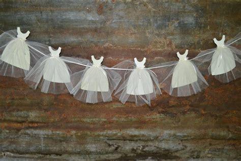 Wedding Banner Garland by Gown Banner Bunting Garland Wedding Bridal