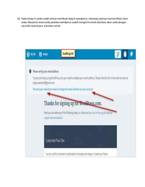 cara membuat blog berbayar di wordpress cara membuat blog dengan wordpress
