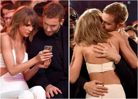 taylor swift global awards taylor swift and calvin harris get cozy at the billboard