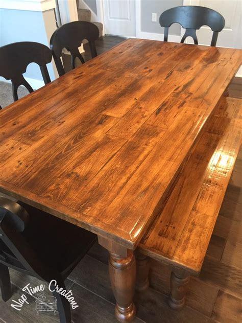 custom bench refinished  antique walnut gel stain
