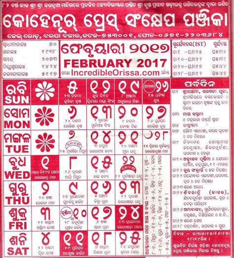odia calendar  kohinoor radharaman  bhagyadeep incredible orissa