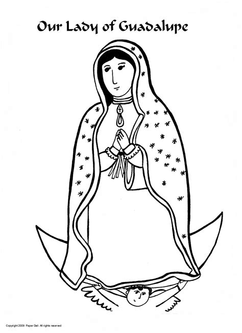 our lady of guadalupe coloring activity catholicmom com