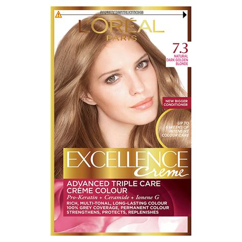 l oreal excellence permanent hair colour 7 3 golden ebay l oreal excellence permanent hair colour 7 3 golden ebay